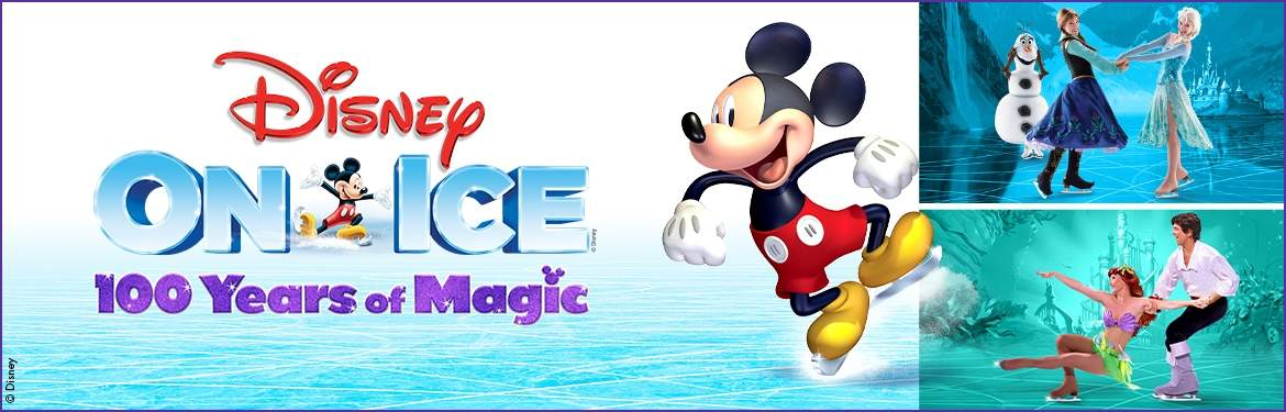 Disney On Ice presents 100 Years of Magic tickets