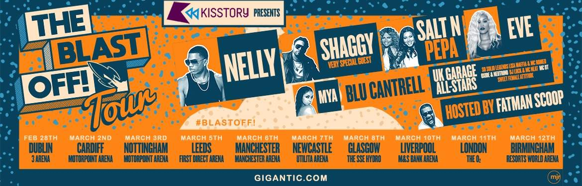 KISSTORY Presents The Blast Off! Tour tickets