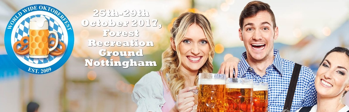 Nottingham Oktoberfest tickets