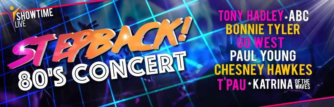 Stepback - the 80s concert
