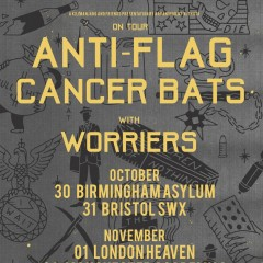 Anti-Flag / Cancer Bats