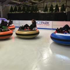 Bumper Cars On Ice