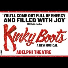 Kinky Boots<br>&bull; No booking fee