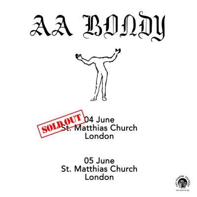 A.A. Bondy tickets