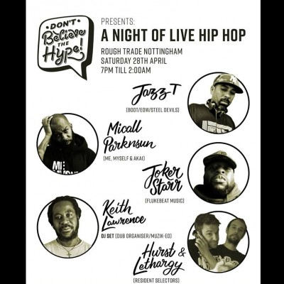 A Night Of Live Hip Hop tickets