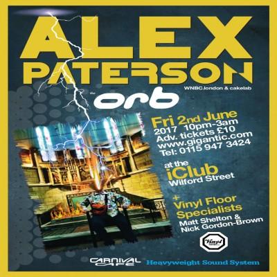 Alex Paterson tickets