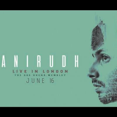 Anirudh tickets