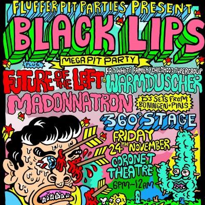 Black Lips Mega Pit Party