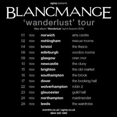 Blancmange tickets