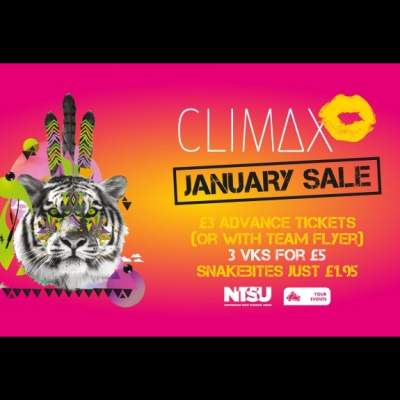 Climax - 19th January 2019 tickets
