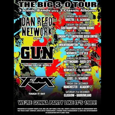 Dan Reed Network | GUN | FM tickets