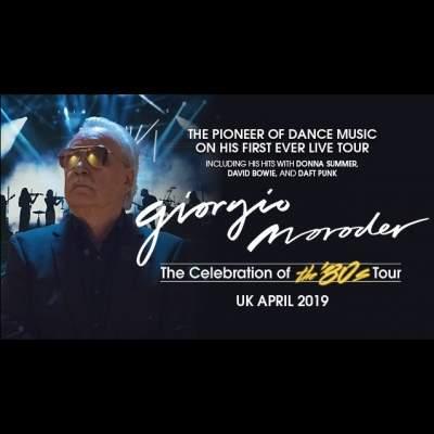 Giorgio Moroder tickets