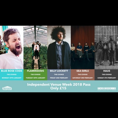 Independent Venue Week 2018 Pass tickets