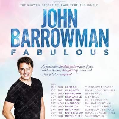 John Barrowman tickets