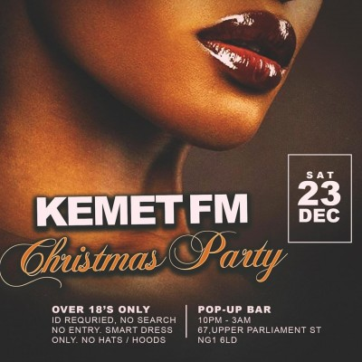 Kemet Loves Christmas tickets
