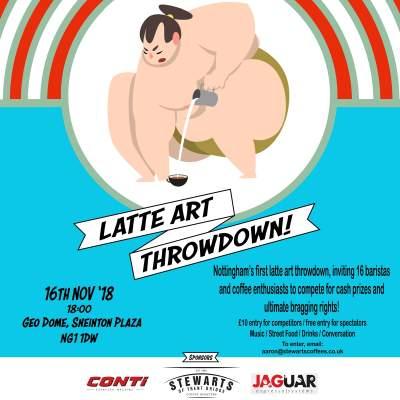 Latte Art Throw Down tickets