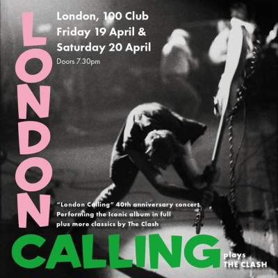 London Calling - A tribute to the Clash tickets