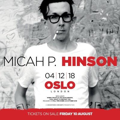 Micah P Hinson tickets