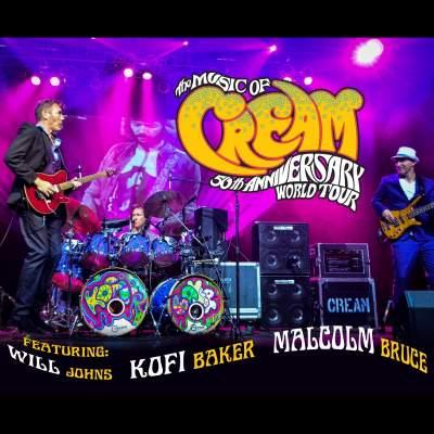 Music of Cream tickets