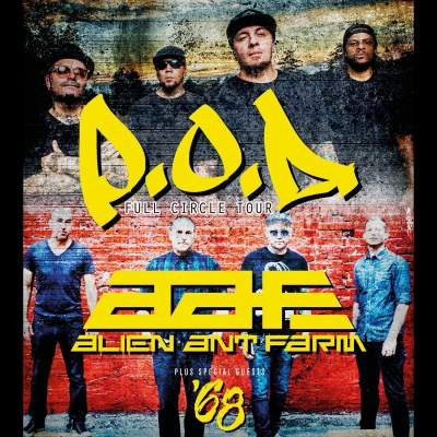 P.O.D tickets