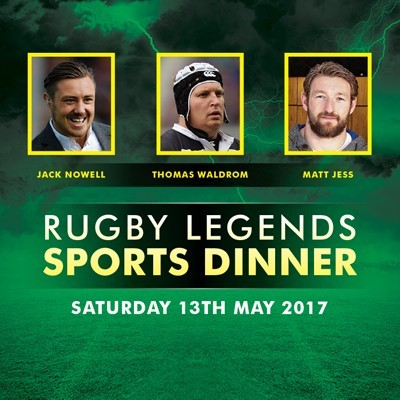 Rugby Legends Sports Dinner