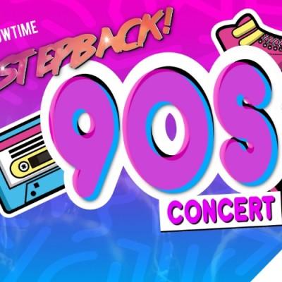Stepback 90s tickets