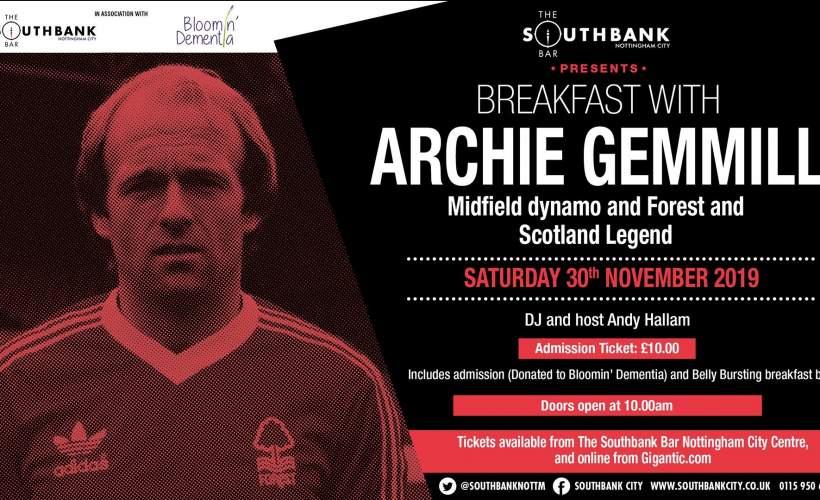 Archie Gemmill tickets