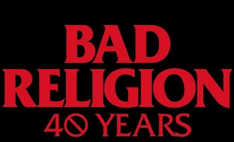 Bad Religion tickets