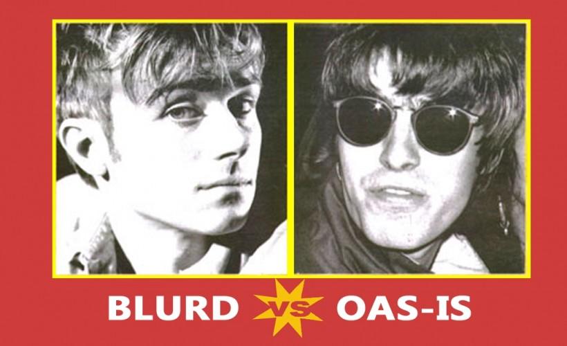 Blur v Oasis tickets