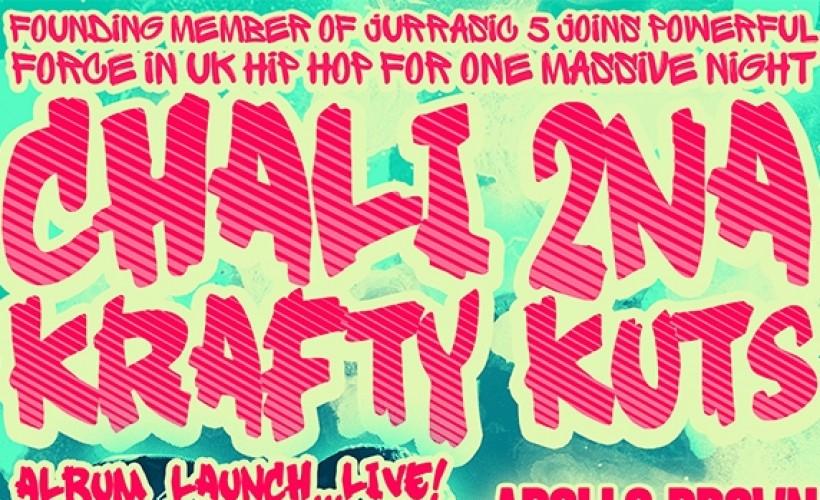 Recently announced: Chali 2Na & Krafty Kuts