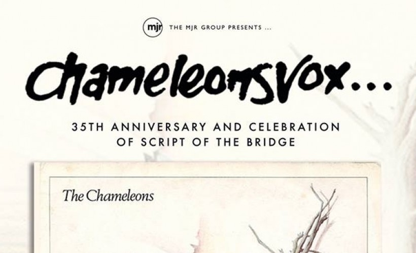 Chameleons Vox tickets