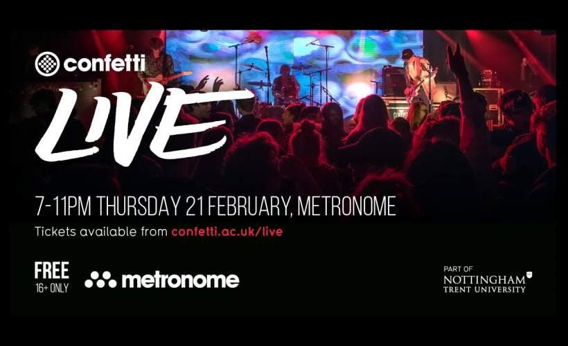 Confetti Live at Metronome tickets