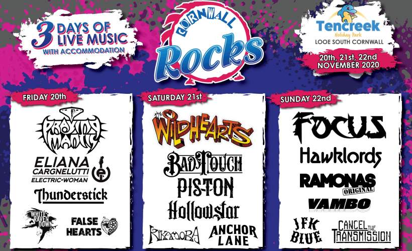 Cornwall Rocks tickets