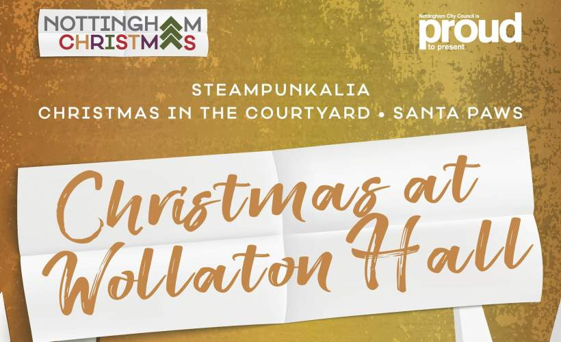 Family Christmas Tour of Wollaton Hall tickets