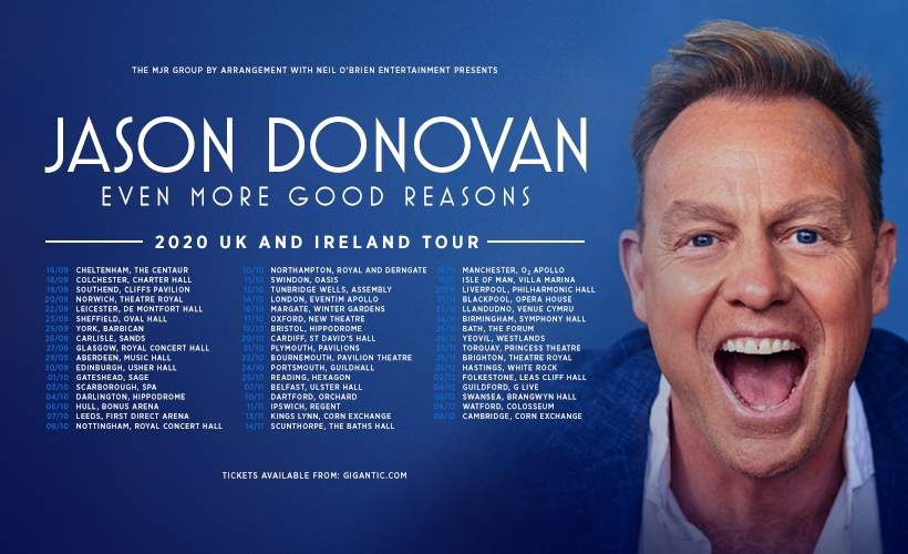 Jason Donovan tickets