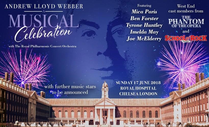 PRESALE - Live at Chelsea - Andrew Lloyd Webber A Musical Celebration
