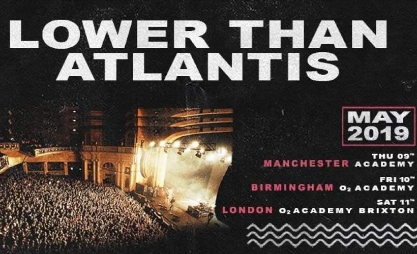 Lower Than Atlantis tickets