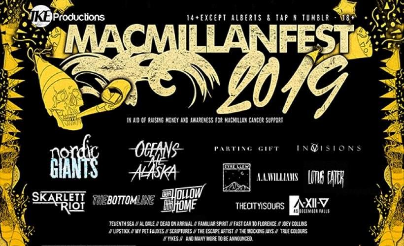 MACMILLAN FEST 2019 tickets