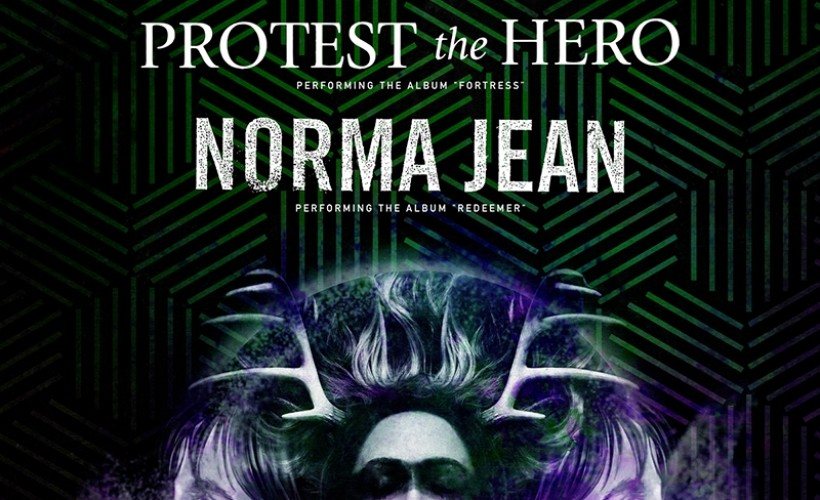 "Protest The Hero ""Fortress"" Anniversary Tour vs. Norma Jean ""Redeemer"" Anniversary Tour"