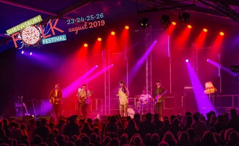Shrewsbury Folk Festival tickets