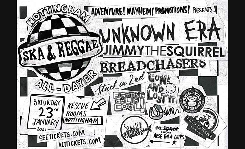 THE NOTTINGHAM SKA AND REGGAE ALL-DAYER tickets