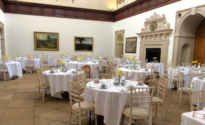 Wollaton Hall Afternoon Tea tickets
