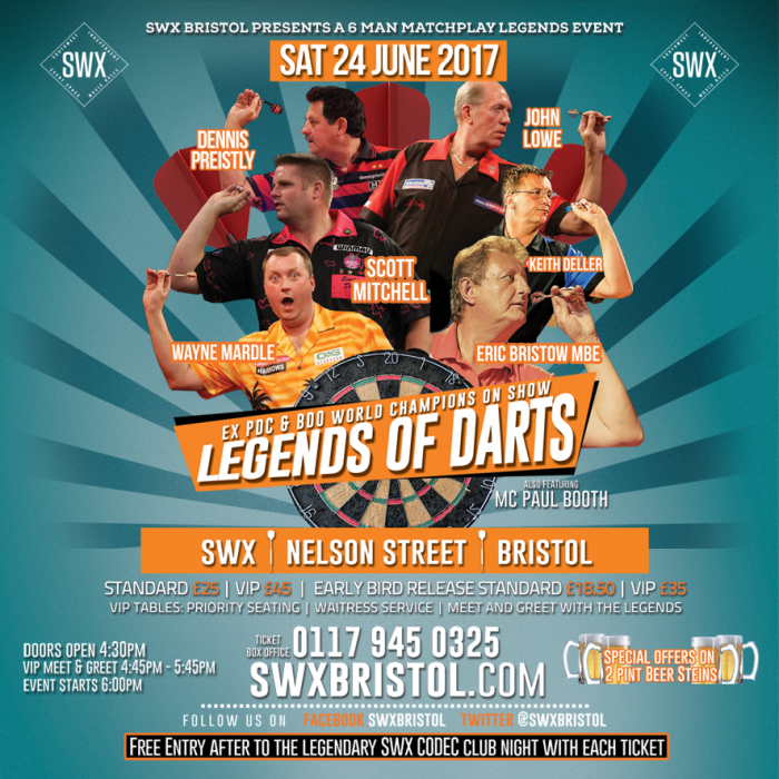 Legends of Darts