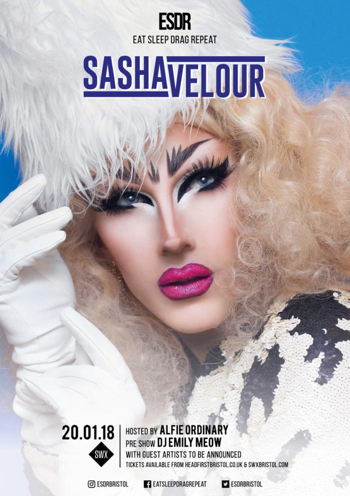 ESDR presents Sasha Velour