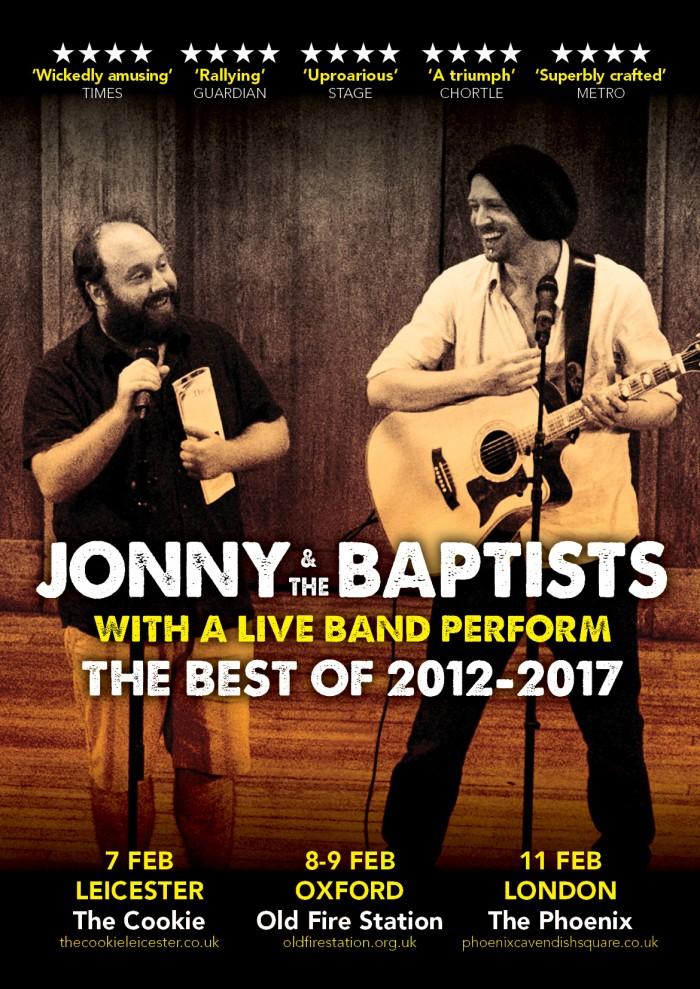 Jonny & The Baptists tickets