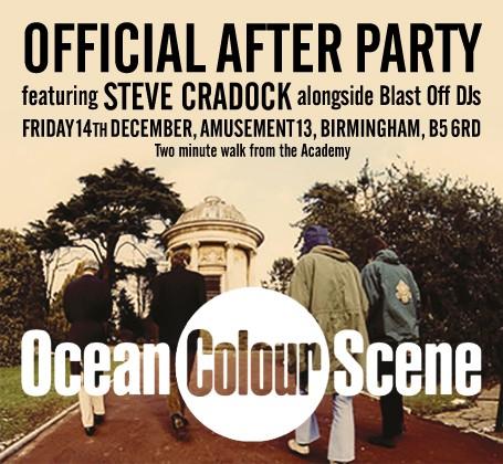 Ocean Colour Scene Official After Show Birmingham