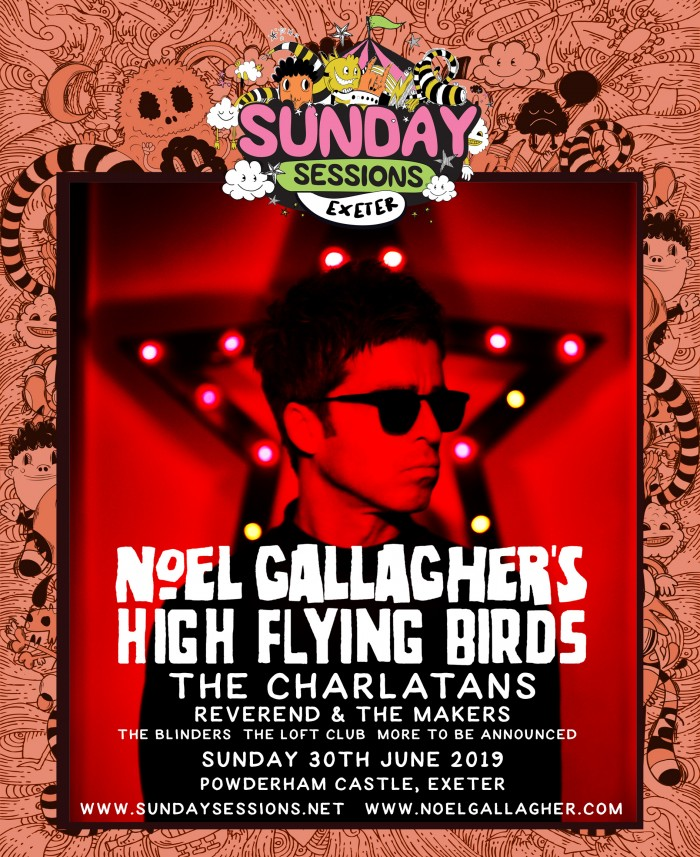 Sunday Sessions Exeter - Noel Gallagher's High Flying Birds