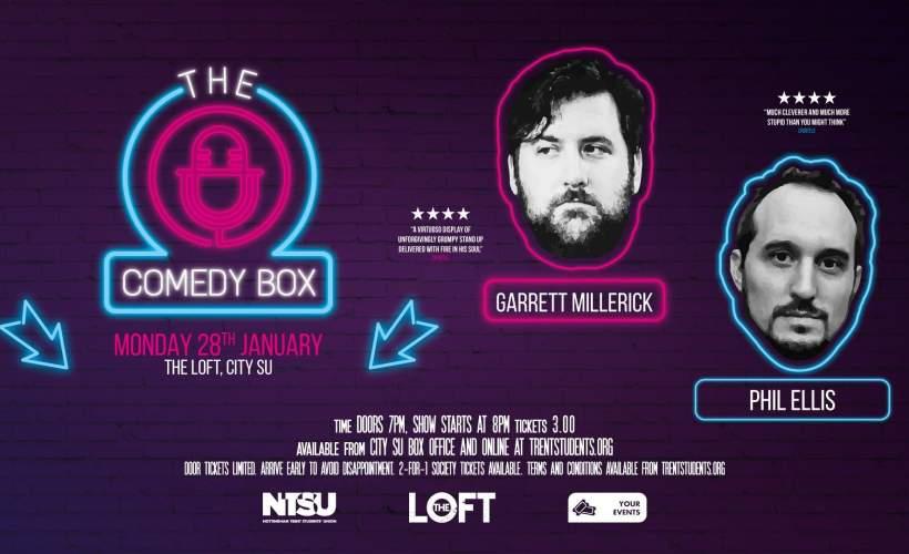 Comedy Box - 28th January tickets