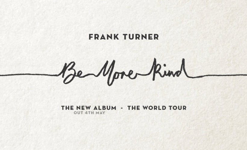 Frank Turner and the Sleeping Souls tickets