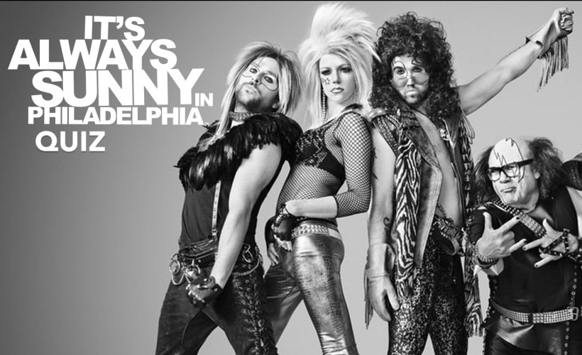 It's Always Sunny in Philadelphia Quiz tickets